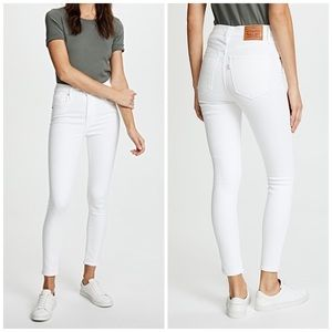 NEW Levi's Mile High Super Skinny Ankle Jeans